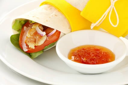 Quick and easy wrap fillings