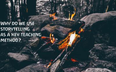Why do we use storytelling as a key teaching method?