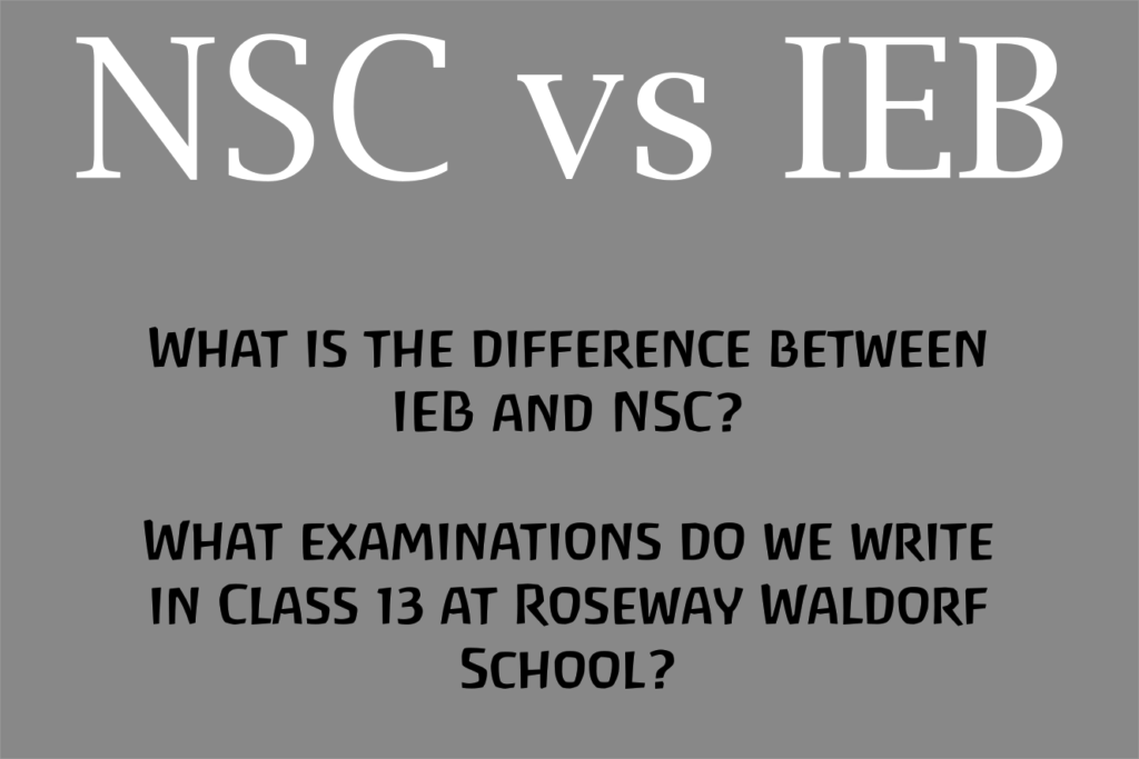 What is the difference between IEB and NSC? What