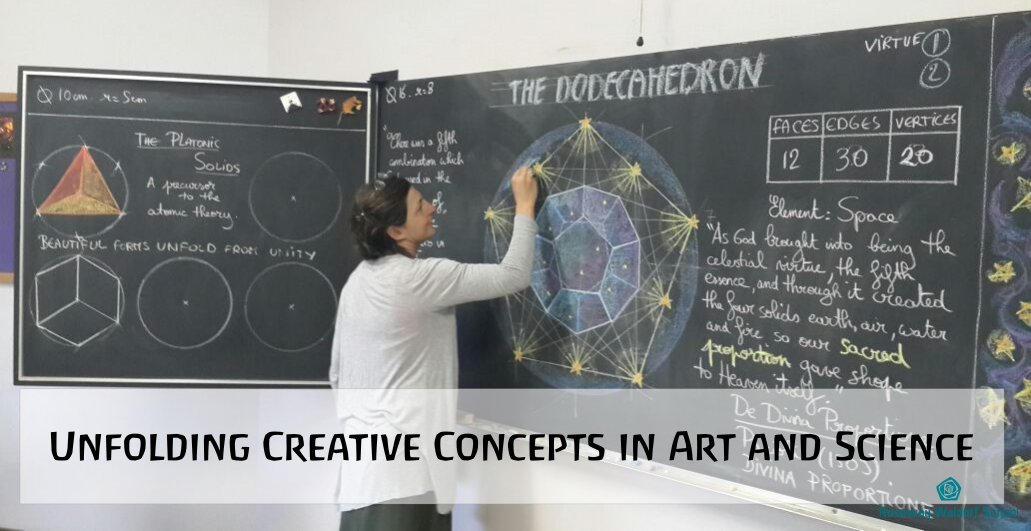 Unfolding Creative Concepts in Art and Science
